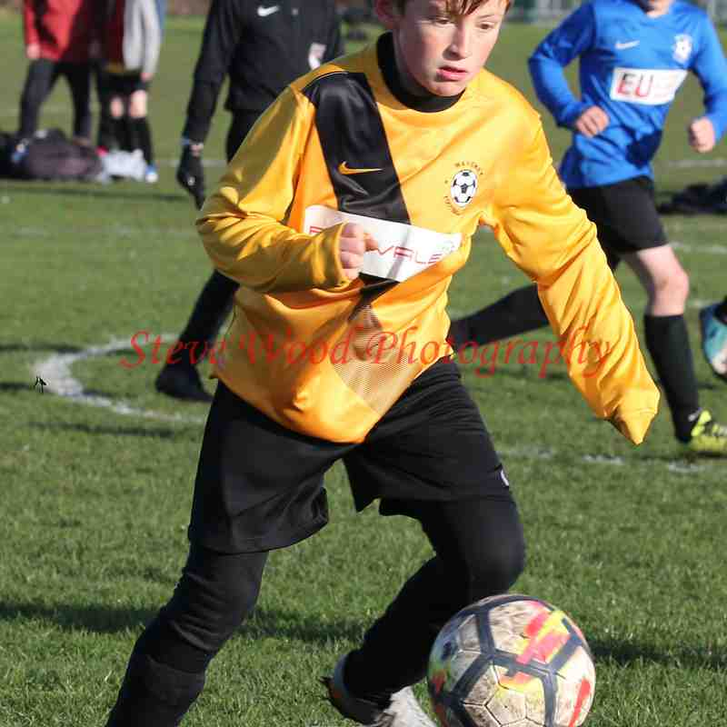 Waveney U11 Tigers v Waveney U11 Lions