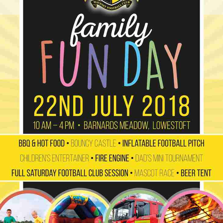 Waveney FC Family Fun Day 2018