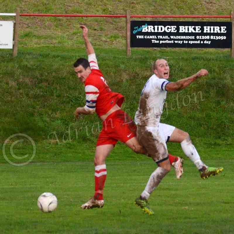 Wadebridge Town v Helston Athletic 8.11.2014