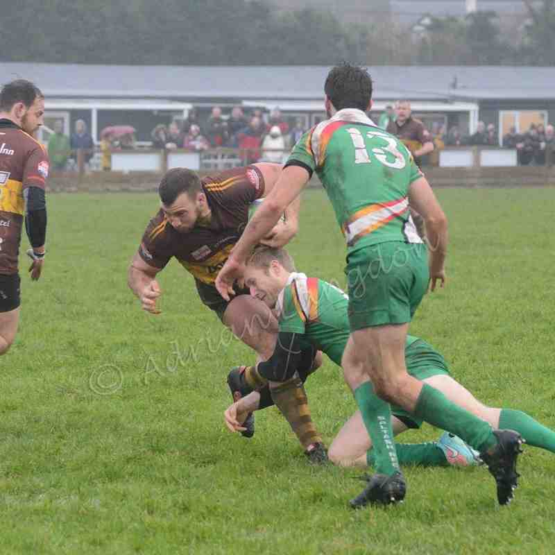 Wadebridge Camels v Saltash 23.1.2016