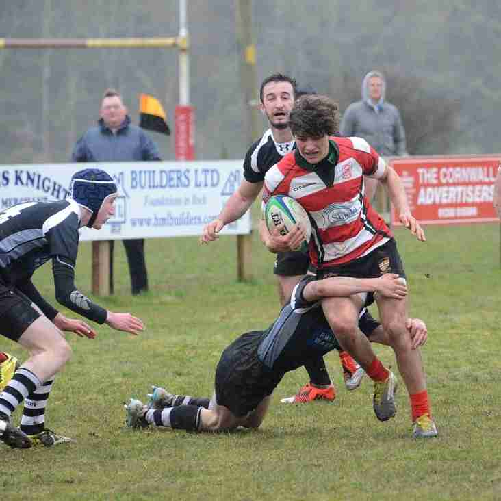 Cornwall Colts Shield Final 8.4.2016
