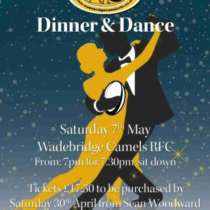 Camels Dinner & Dance Sat 7th May 2016