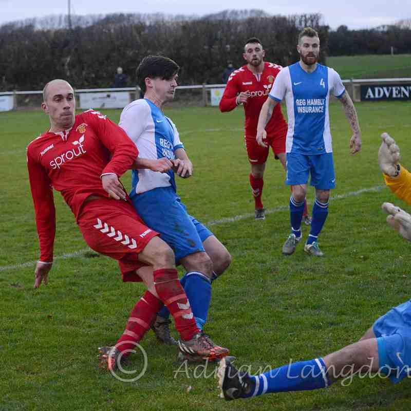 Camelford v Wadebridge Town Senior Cup 3.12.2016