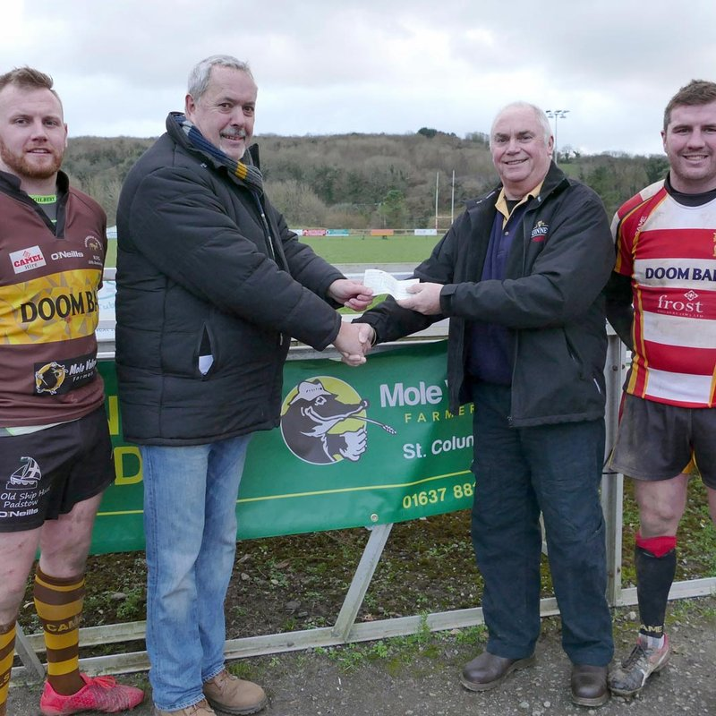 Mole Valley Farmers sponsor Wadebridge Camels
