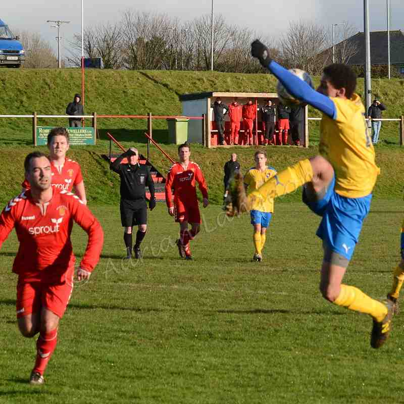 Wadebridge Town v Sticker 28th Jan 2017