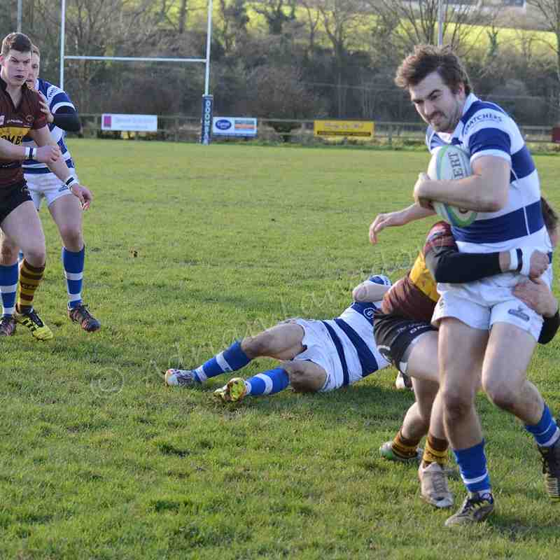 Wadebridge Camels v Burnham on sea 28.1.2017