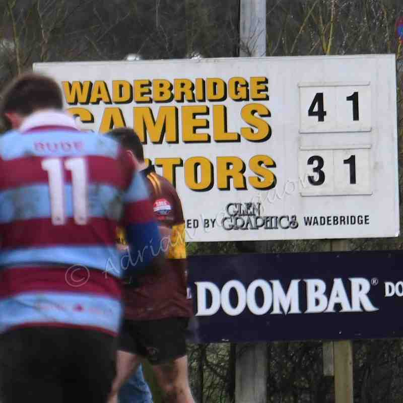 Wadebridge Camels v Bude 4th March 2017
