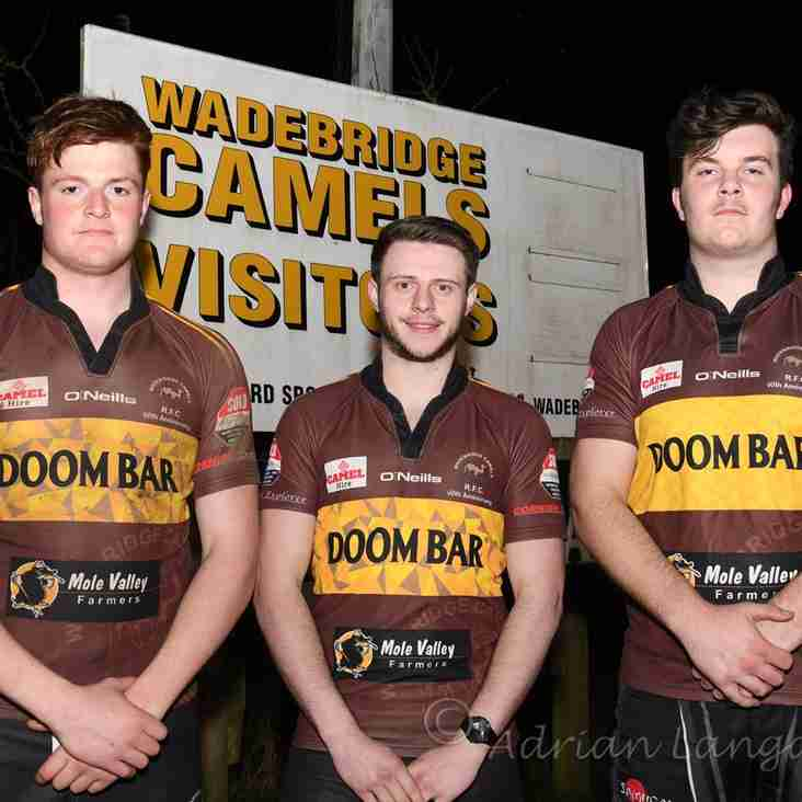 3 Camels in Cornwall U20's starting XV