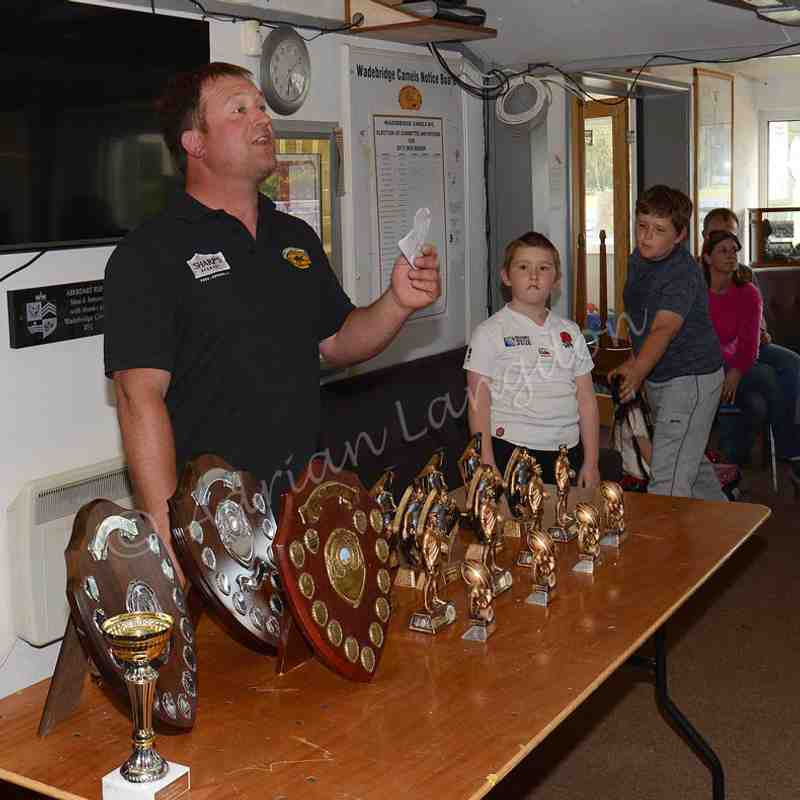 Wadebridge Camels Junior awards evening 26th April 2017