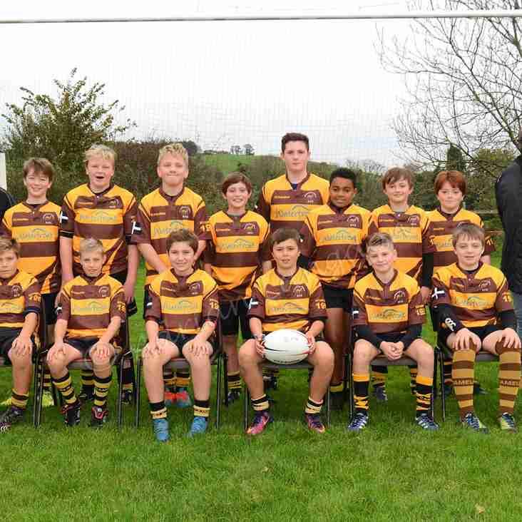 Wadebridge Camels Under 12s team photo