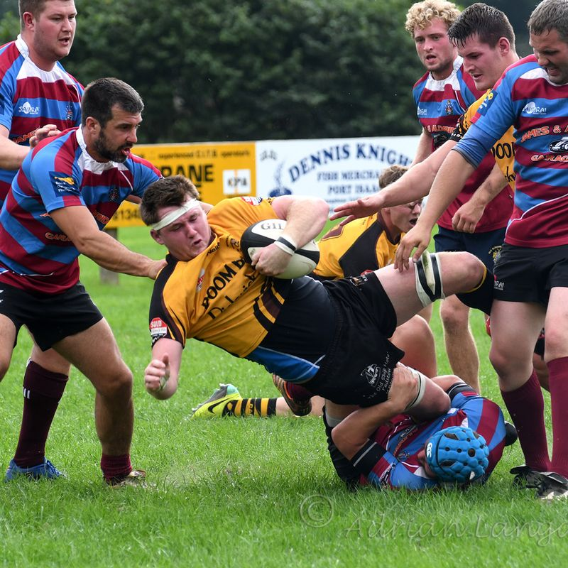 Pre-season friendly ... Wadebridge Camels 57 - Bude 0