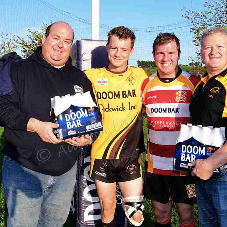 Sharps Brewery sponsor local derby
