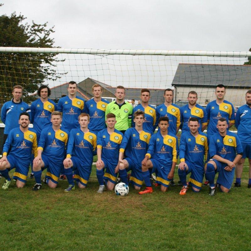 Pentraeth  lose to Gaerwen 3 - 1