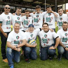 Leicester Tigers Big Boot Challenge