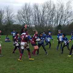 Melton Mowbray vs Forest. Under 10s.