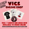 New Items Added To The Vics Online Shop
