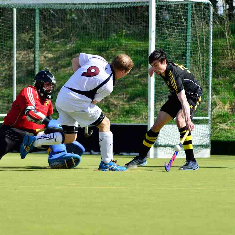 Men's 1st XI v Purley Walcountians - 11 April 2014