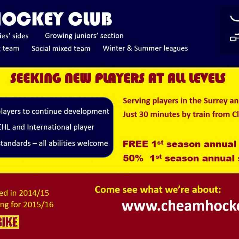 Why join Cheam?