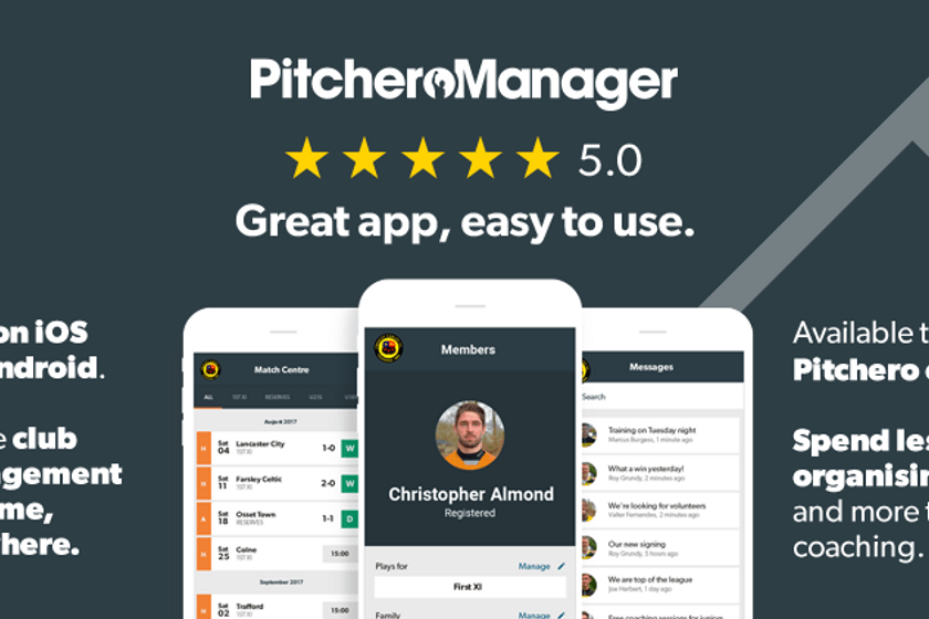 Calling all team coaches - download the new Manager App!