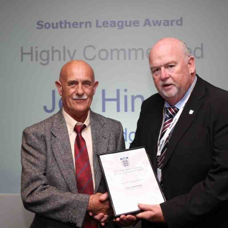 The FA Groundsman of the Year Awards 2011 (Jeff Hinde, Uxbridge FC)