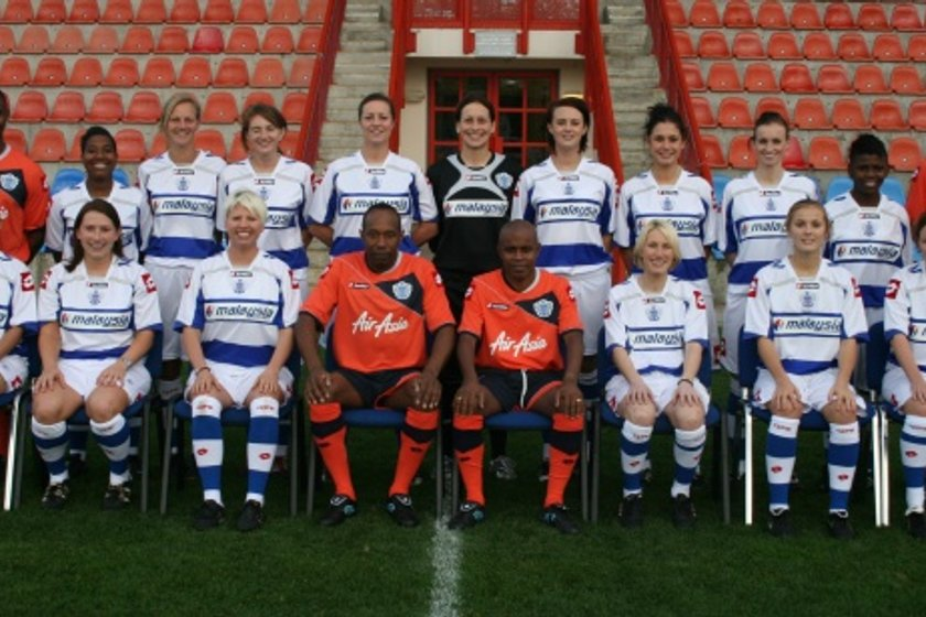 Queens Park Rangers LFC lose to Charlton LFC 0 - 6