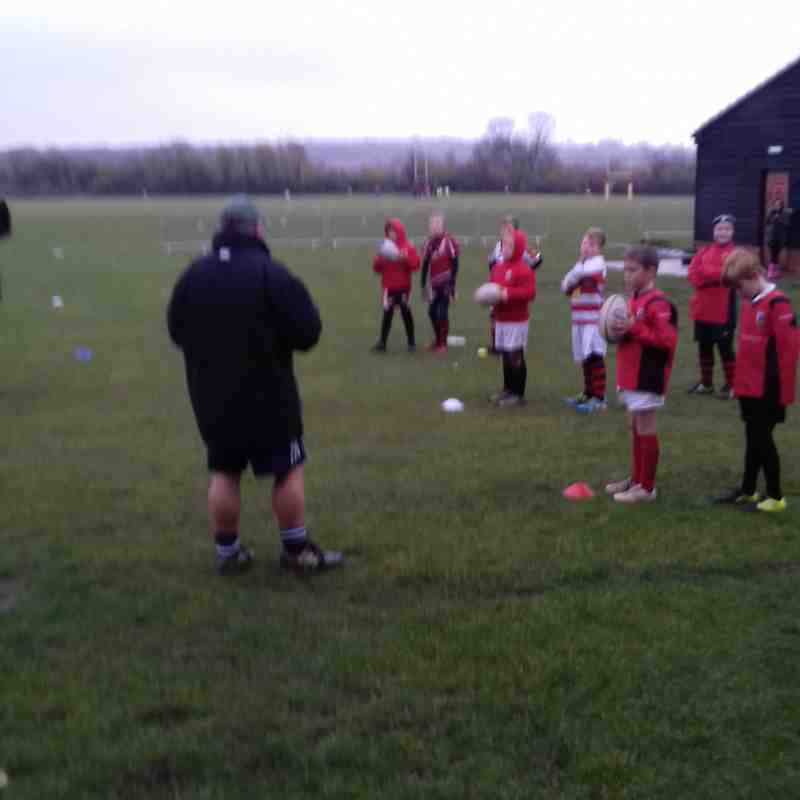 U10's with guest coach