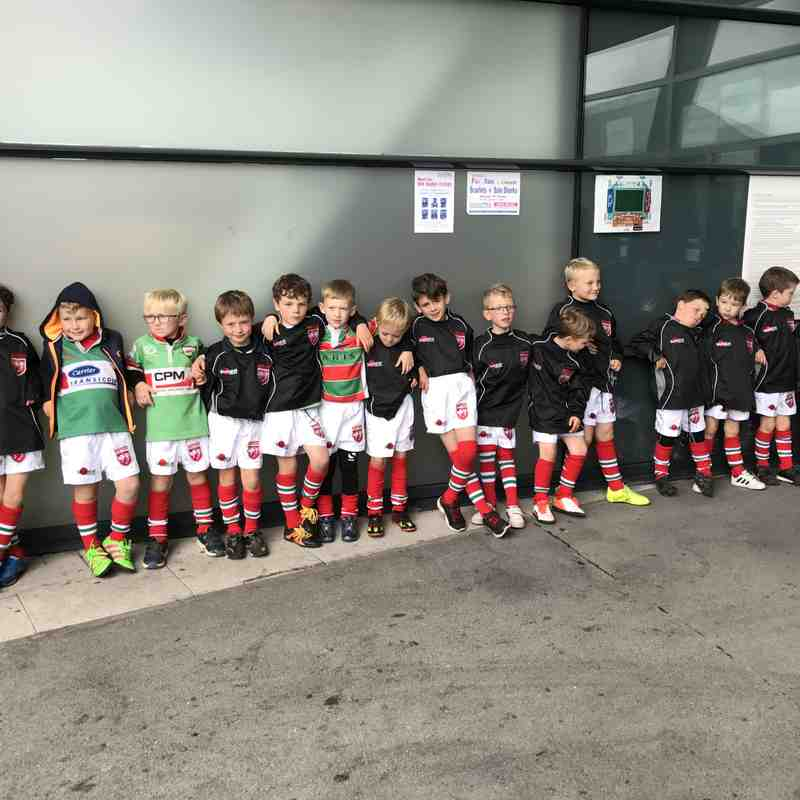 WRUFC U7s at Sale Sharks