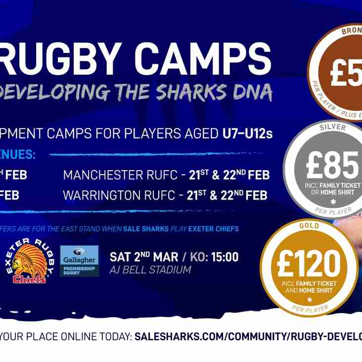 Sale Sharks Half-Term Rugby Camp