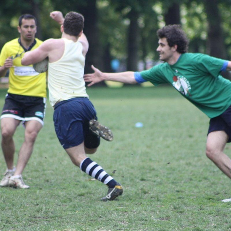 Touch Rugby every Wednesday