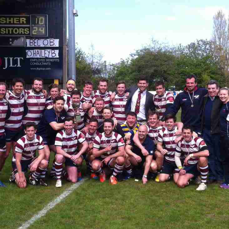 2nd XV in first round Surrey Plate v Effingham & Leatherhead 2nd XV 2 Dec 2017 at Home