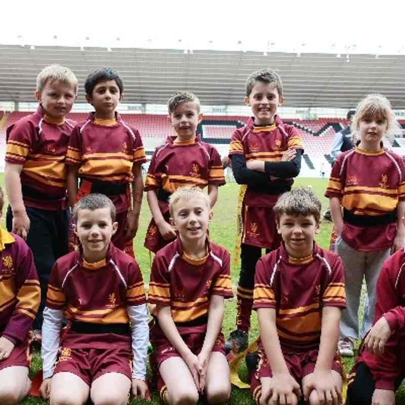 Middlesbrough RUFC Under 8s Set 1 05/05/2014