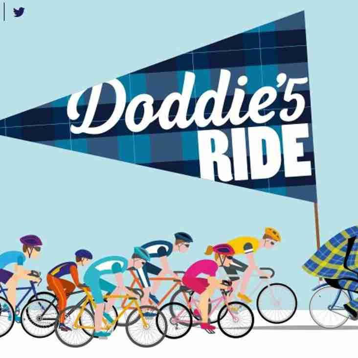 Doddie5 Ride -  Melrose to Melrose