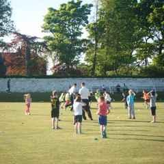 Last Junior Practice - Fri 9th Sept