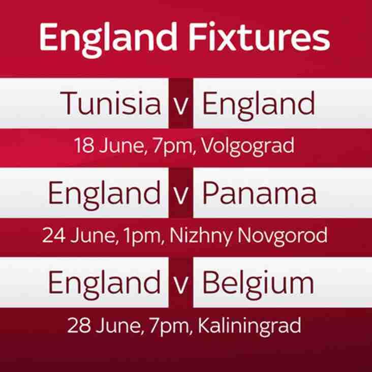 England v Tunisia Live Tonight At PSL From 6pm