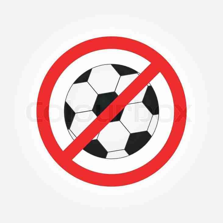 Cricket Not Football During Fridays Training