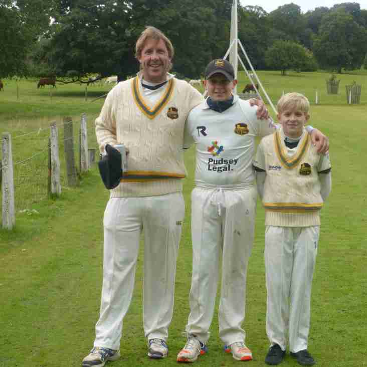 Priestley Boys Follow In Dads Footsteps!!