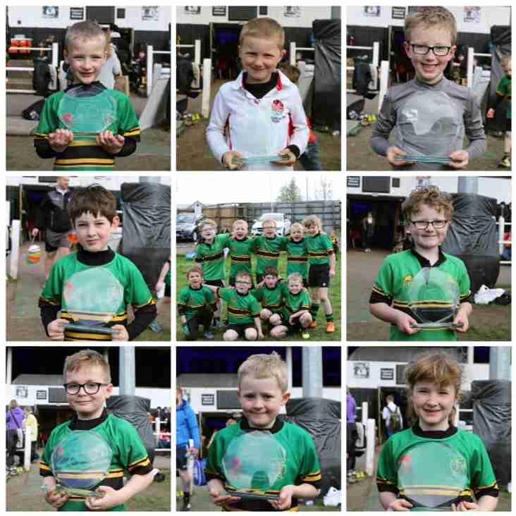 Fair Play Award Winners for Burton U7 Festival 2017 - Eccleshall under 7's Squad