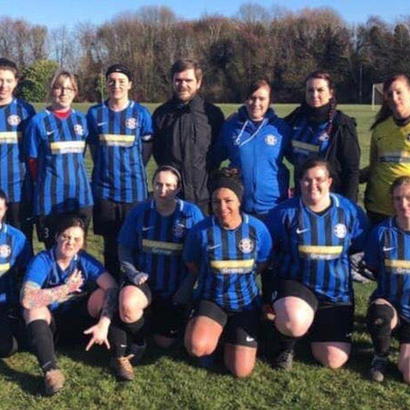 Cardea Ladies lose to Ketton Ladies 0 - 6