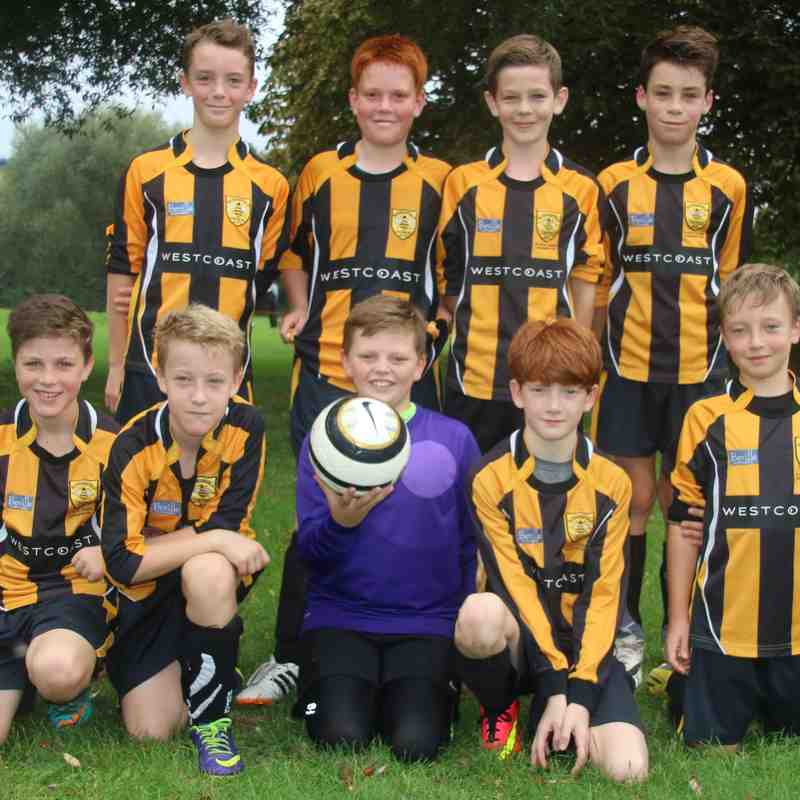 Rotherfield U12 Team shots