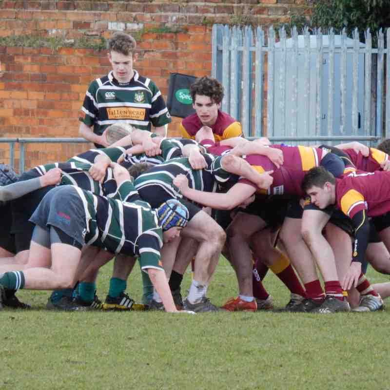 Colts V Sandal Academy 28-02-2016 Pictures by Stu Taylor