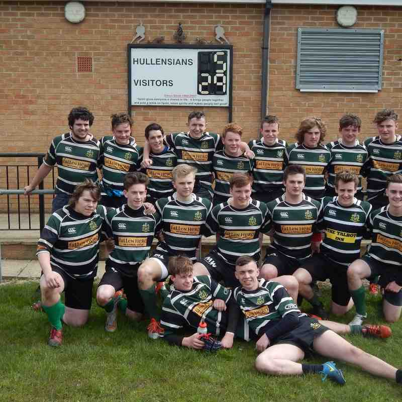 U16s & U17s vs Hullensians 01-05-2016 Pictures By Stu Taylor