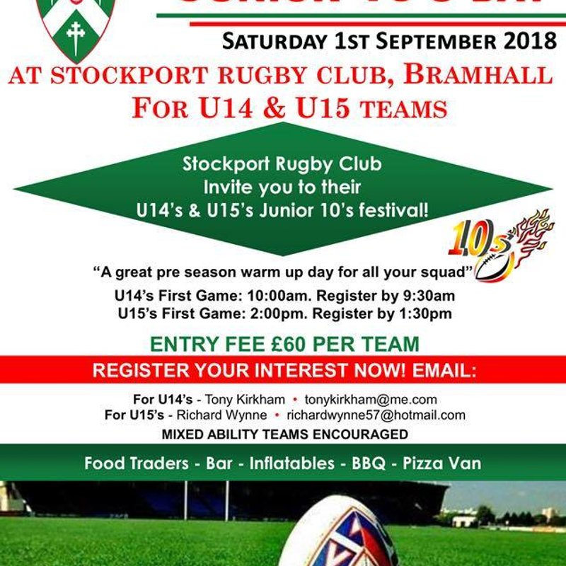 u14's & 15's pre season 10's tournament