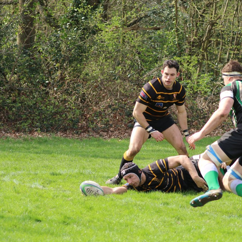 Tackling Optional as Totts Win Try Fest!