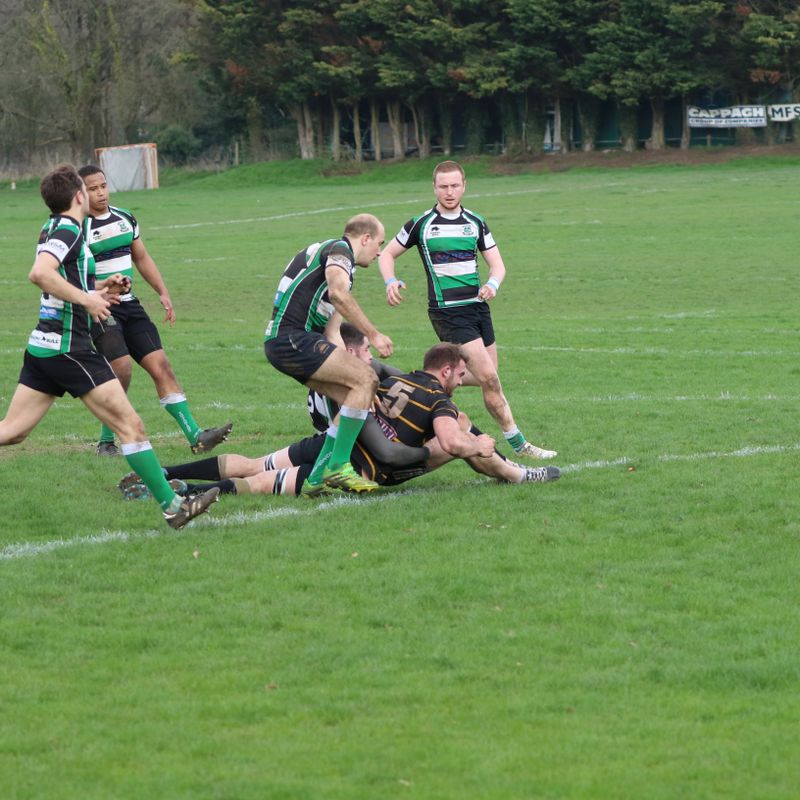 Cornish On Wrong Side of 12 Try Thriller!