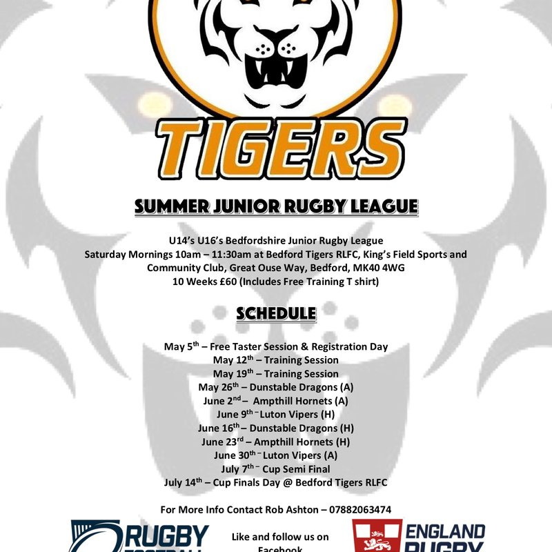 JUNIOR TIGERS