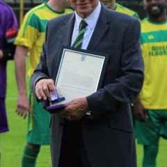 Tommy South - Football Association 50 Year Long Service Award