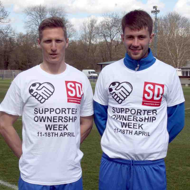 Angels promoting Supporter Ownership Week by David Couldridge 11/04/15