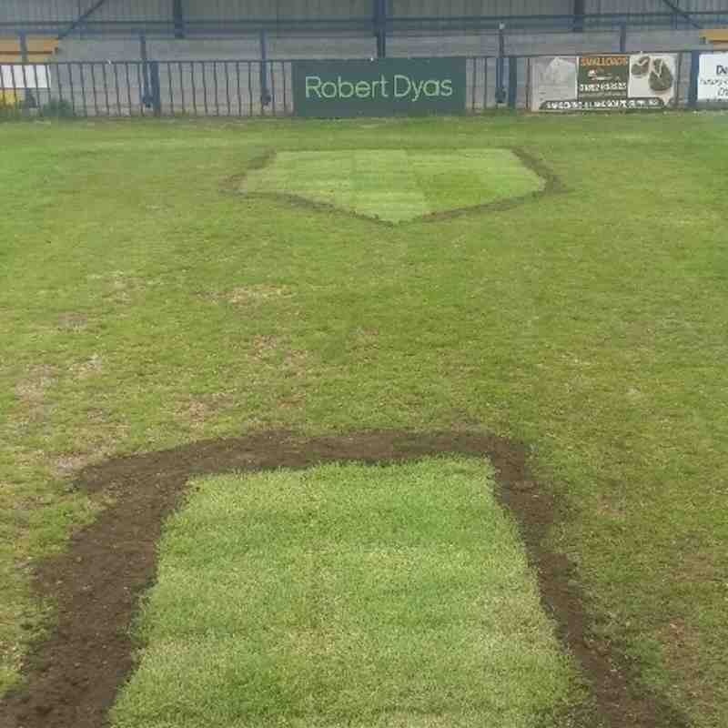 Pitch renovations - Summer 2015