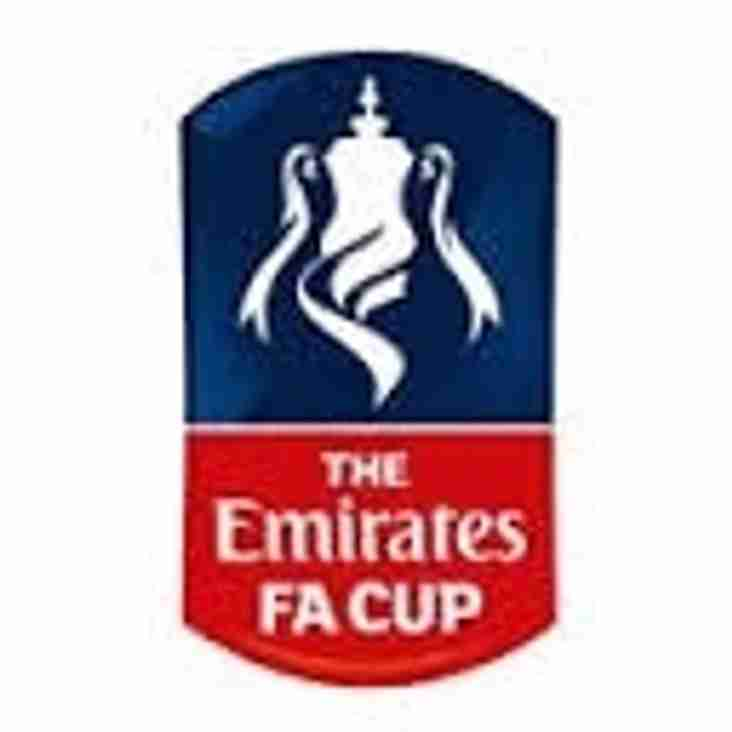 Draw for Emirates FA Cup 4th Qualifying Round