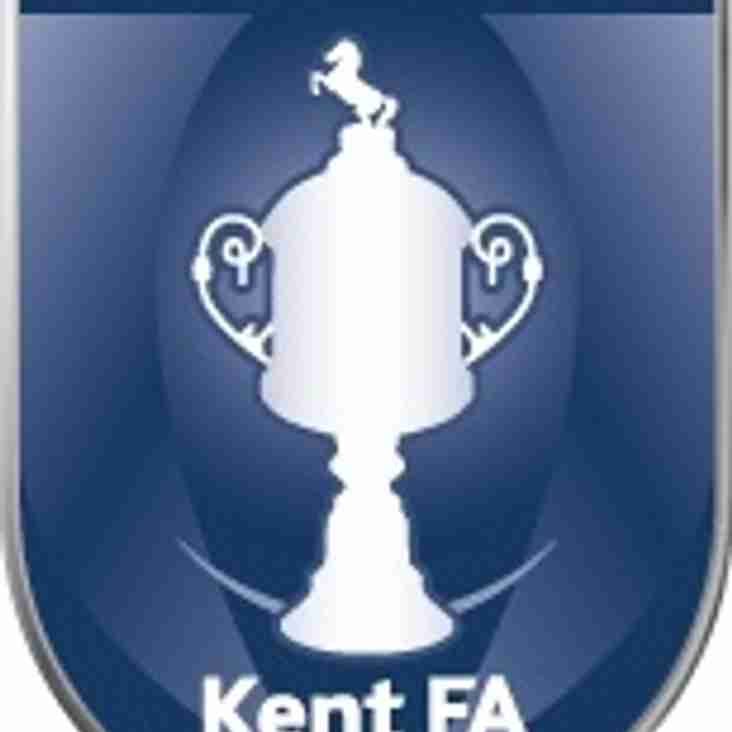 Home to the Stones in Kent Senior Cup